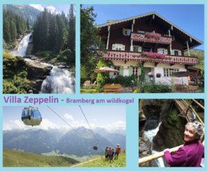 Villa Zeppelin postkaart