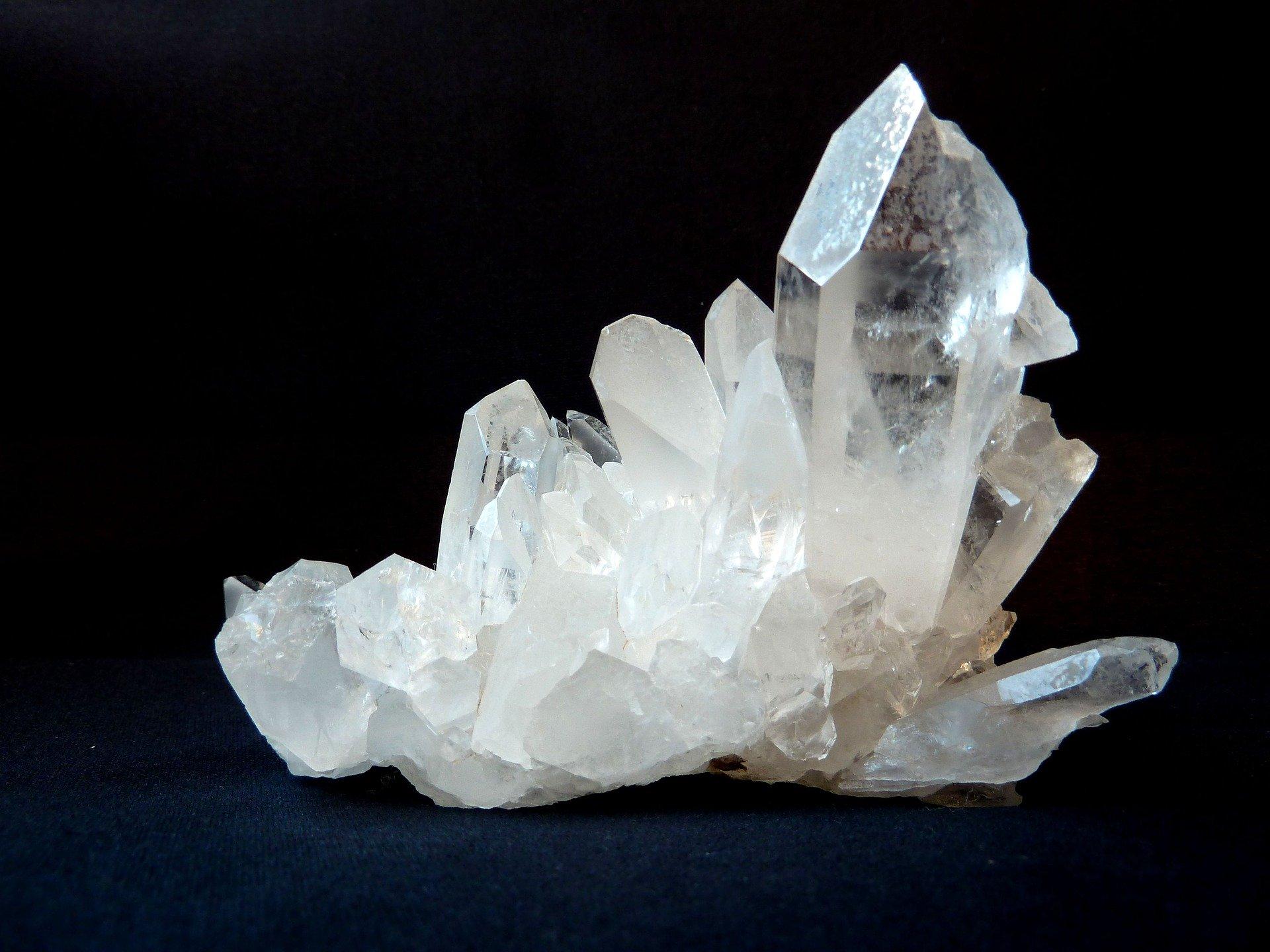 bergkristall stenen
