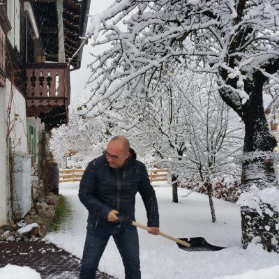 alweer sneeuw ruimen