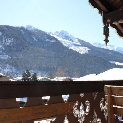 uitzicht van af balkon voorzijde