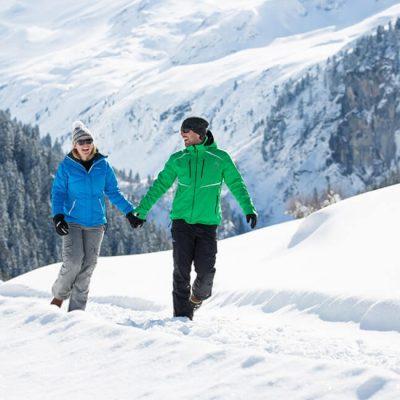 wandelen in winter